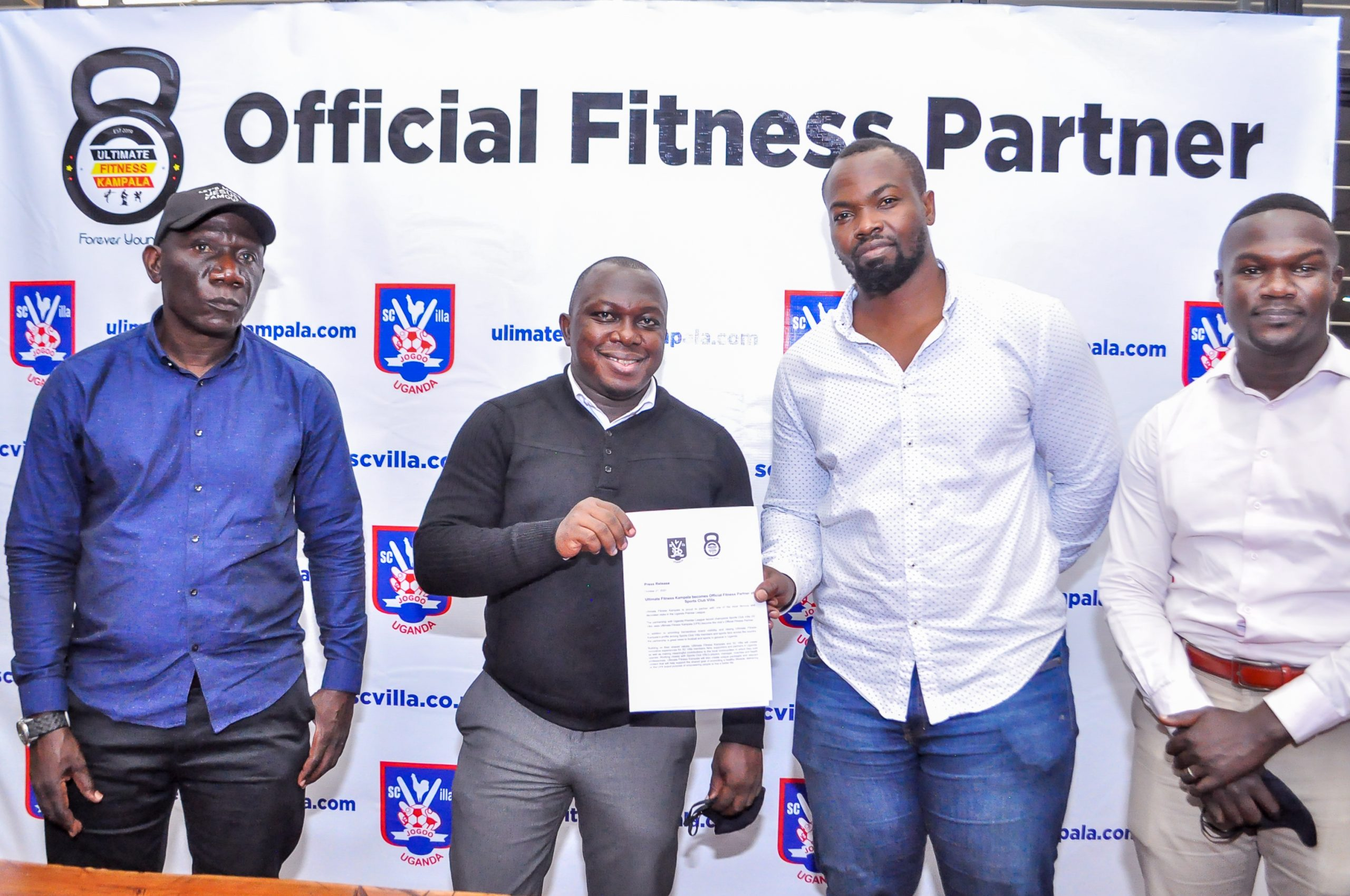 Ultimate Fitness Kampala becomes Official Fitness Partner of Sports Club Villa