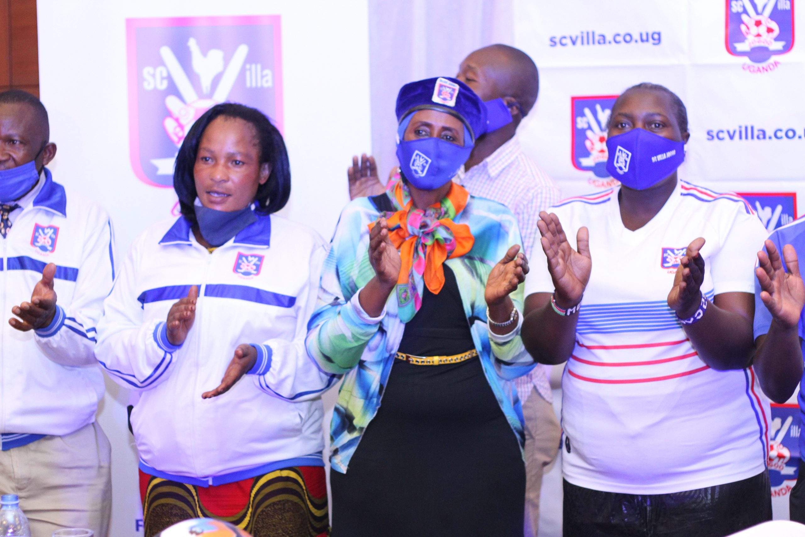 Fans at the Sheraton Kampala Hotel at the Launch of the Villa Members Trust